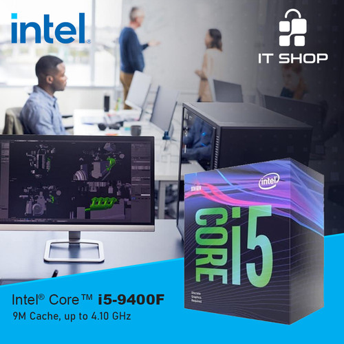 Foto Produk Processor Intel 1151 Core I5 9400F Box dari IT-SHOP-ONLINE