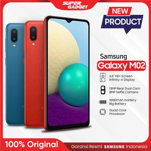 Foto Produk Samsung M02 2/32 GB Garansi Resmi SEIN - Biru dari SUPER_GADGET