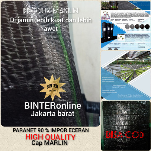 Foto Produk paranet 90 % eceran lebar 1.8 m import dari BINTERonline