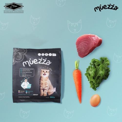 Foto Produk Paket Hemat Bundling 1 Pc Mackerel & 2 Pc Ocean Fish - Makanan kucing dari Muezza Cat Feed Official Shop