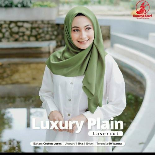 Foto Produk Jilbab Segi Empat Luxury Umama Best Quality Best Seller Jilbab Pesta dari BA HIJAB