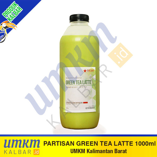 Foto Produk Partisan Green Tea Latte 1000ml dari umkmkalbar.id