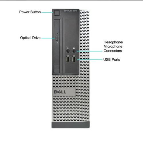 Foto Produk Gen3 Core i5 - SSD 240gb - 4gb Ram - Dell Optiplex Mini PC dari ssd kingfast