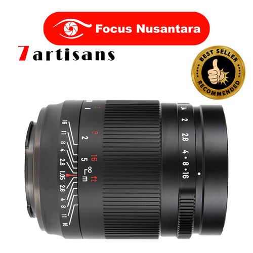 Foto Produk 7ARTISANS 50mm f/1.05 for Sony E Black dari Focus Nusantara