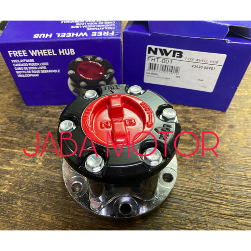 Foto Produk Free lock Hartop 1F gigi kasar merk NWB set kiri kanan dari JABA MOTOR TOYOTA