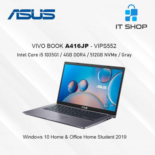 Foto Produk ASUS Vivo Book A416JP-VIPS552 Core i5 - Gray dari IT-SHOP-ONLINE