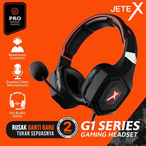 Foto Produk HEADSET | HEADPHONE | HANDSFREE | EARPHONE GAMING JETE-G1 dari JeteIndonesia
