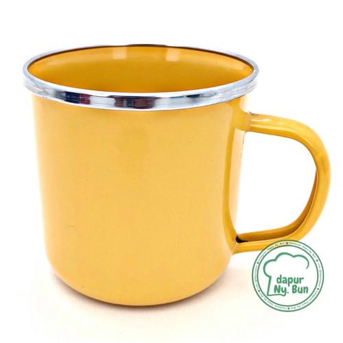 Foto Produk Premium Mug Enamel POLOS 400ml / Cangkir Kopi Seng - SKU 2 dari Dapur Ny.Bun