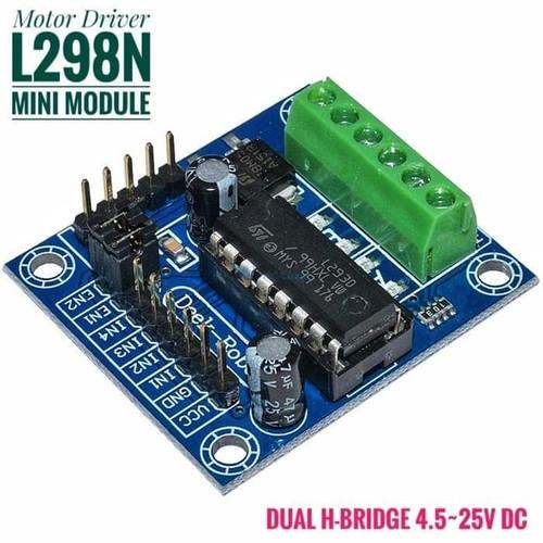 Foto Produk Mini L293D Motor Driver Module Dual H Bridge 4 5 25V DC for Arduino dari RAJACELL BEKASI