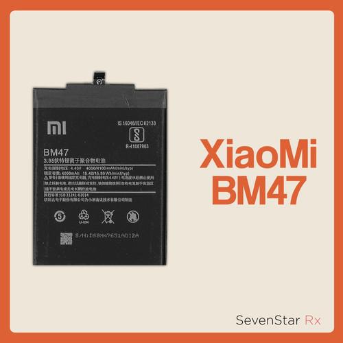 Foto Produk Baterai Baterry Batre Xiaomi Redmi 3 3s 3 pro 3x BM47 BM-47 ORIGINAL dari SevenStar RX