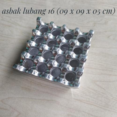 Foto Produk Asbak Lubang 16 Aluminium Ashtray / Asbak Hotel dari SophieDiskonMember