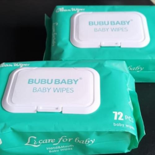 Foto Produk ❤️100% original ❤️ Bubu baby wipes tissue basah disinfektan dari Koreanholicshop
