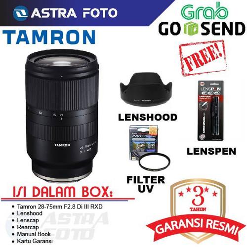 Foto Produk Tamron 28-75mm F2.8 Di III RXD Lens for Sony E-mount dari Astra Foto