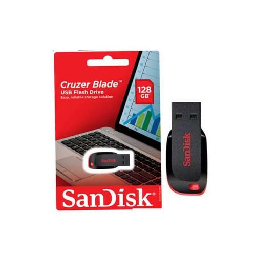 Foto Produk Flashdisk Sandisk Cruzer Blade CZ50 CZ 50 128gb 128 gb USB 2.0 dari PojokITcom Pusat IT Comp