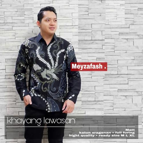 Foto Produk kemeja minolya ungu batik premium dari Jivan Batik