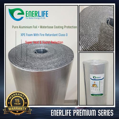 Foto Produk Aluminium Foil Atap - Aluminium Foam / Busa 4mm Double EnerLife P-4A2 dari Energy Life Indonesia