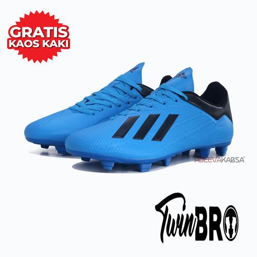 Foto Produk Sepatu bola adds adizero x18 olahraga pria - Biru, 39 dari xoxobandung