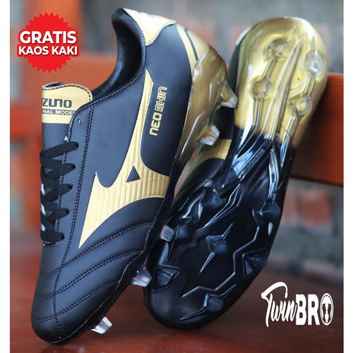 Foto Produk Sepatu Bola Neoshin Olahraga Pria - Hitam, 39 dari xoxobandung