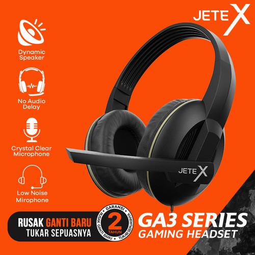 Foto Produk Headset Gaming| Headphone Gaming JETE-X GA3 Series - Garansi 1th dari JETE Official Surabaya