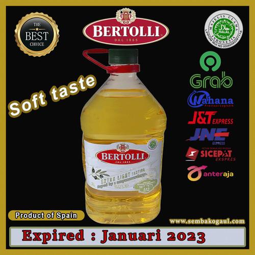 Foto Produk Olive oil bertolli extra light 3 liter original dari Ampunmurahnya