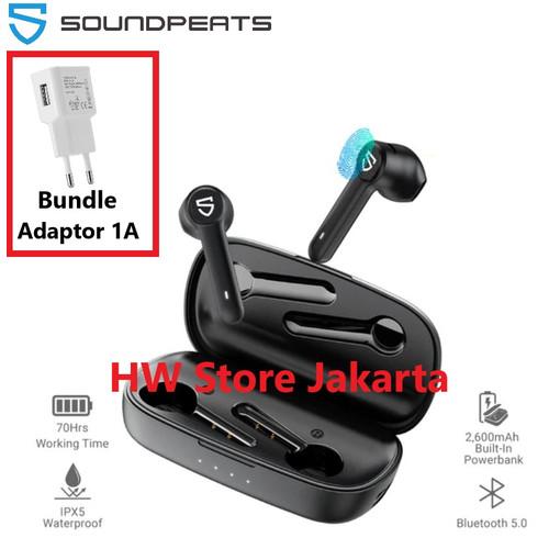Foto Produk SoundPeats Truebuds TWS Wireless Earphone Headset Waterproof - WithAdaptor6Bln dari HW Store Jakarta Official