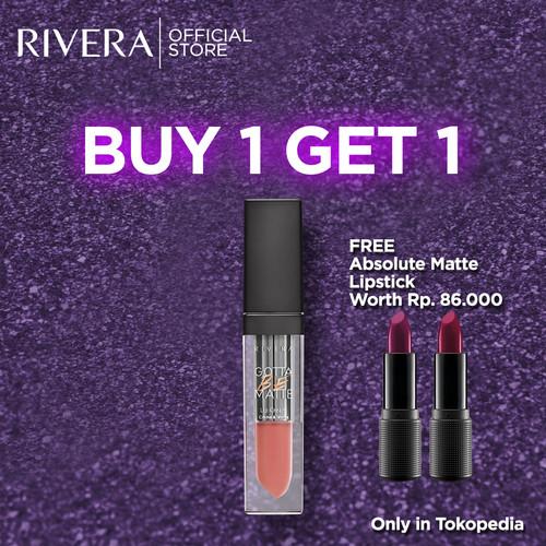 Foto Produk Rivera Gotta Be Matte Lip Cream 303 Retro Mauve dari Rivera Cosmetics