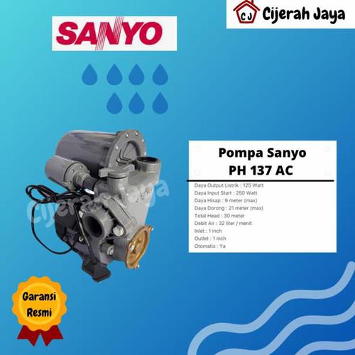Foto Produk Pompa Air Sanyo Otomatis ( P-H 137 A C ) dari TB Cijerah Jaya