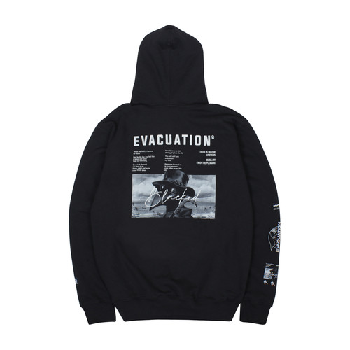 Foto Produk Dobujack Evacuation Black Hoodie - M dari DOBUJACK