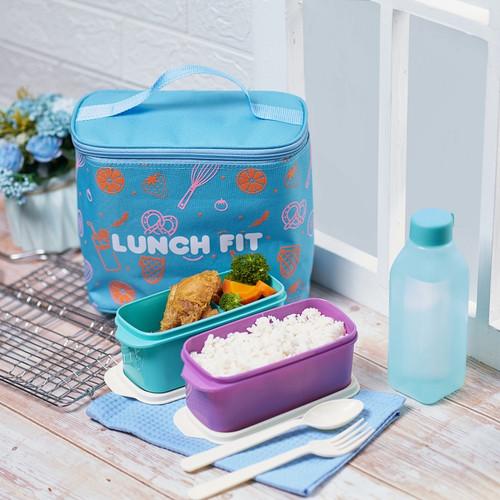 Foto Produk CPM Jennie Lunch Fit Lunch Bag - Biru Muda dari CPM Official