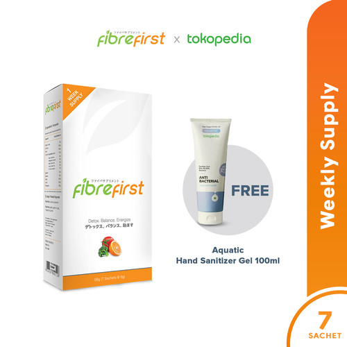 Foto Produk FibreFirst X Tokopedia Exclusive Weekly Supply FREE Aquatic Sanitizer dari FibreFirst Official