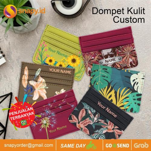 Foto Produk CUSTOM CARD HOLDER DOMPET KARTU - Cokelat dari snapy