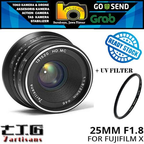 Foto Produk Lensa 7ARTISANS 25MM F1.8 FOR FUJIFILM X Mount Series dari Invicom