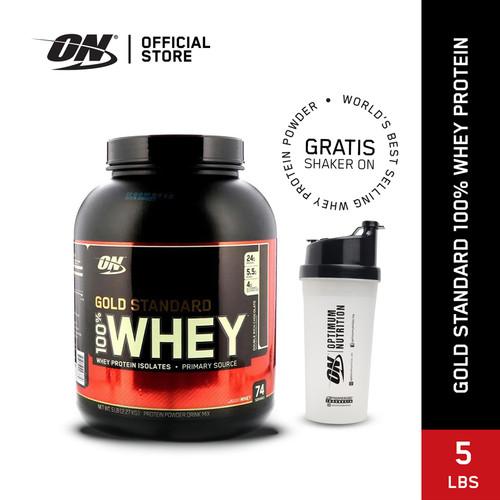 Foto Produk Optimum Nutrition 100% Gold Standard Whey 5Lbs Double Rich Choco dari Optimum Nutrition