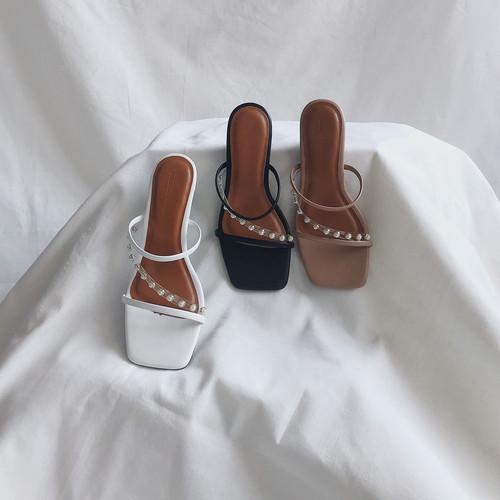 Foto Produk Bella Heels - Sepatu Hak Wanita - White, 37 dari Nakedsol