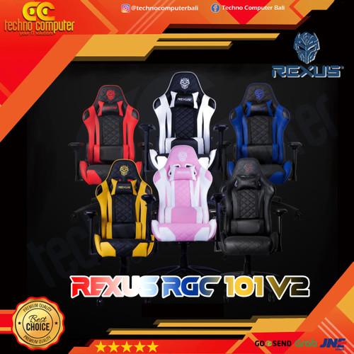 Foto Produk Kursi Gaming REXUS RGC-101 V2 - 4D ArmRest dari Techno Computer Bali