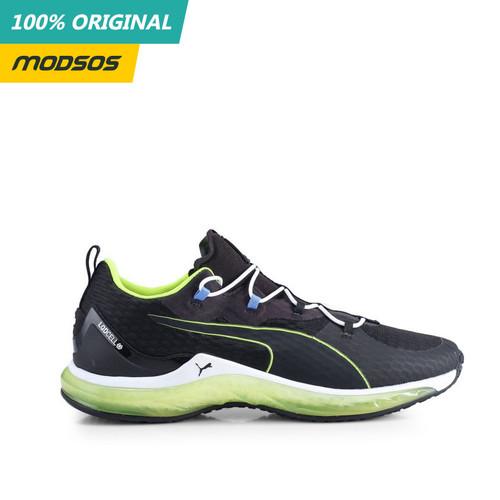 Foto Produk Sepatu Running Pria Puma Hydra Black White Original dari Modsos
