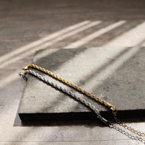 Foto Produk Dear Me - Edith Bracelet Titanium 24K Gold Plated Gelang Rantai Wanita dari Dear Me Jewelry