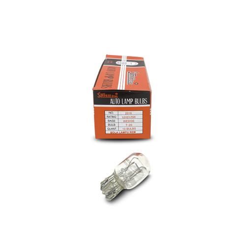 Foto Produk Bohlam lampu rem colok ceblok T20 12v kaki 2 21/5w stanlee star dari IDOLA MOTOR 80