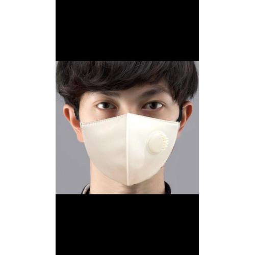 Foto Produk Masker Kain 4 Lapis Putih Respirator 4 Lapis Bisa Dicuci dari reynaldo-tan