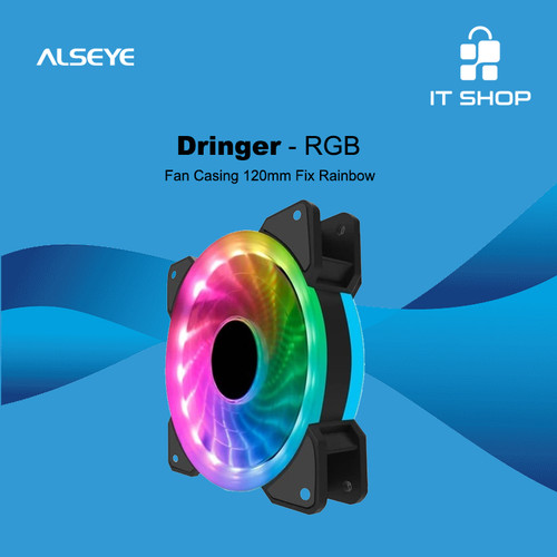 Foto Produk Alseye Dringer A-RGB LED CASE FAN dari IT-SHOP-ONLINE