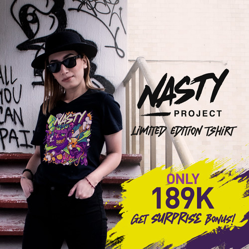 Foto Produk Tshirt NASTYLUSTRATION Wanita - S dari NASTYProject