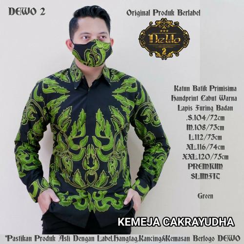 Foto Produk kemeja slimfit batik cakrayudha premium dari Jivan Batik