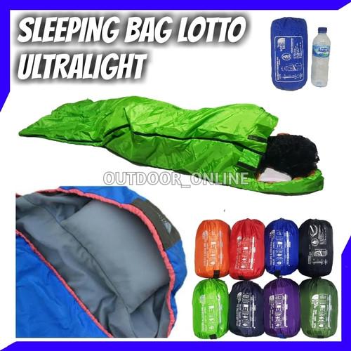 Foto Produk Sleeping bag UL + Bantal - SB - Ultralight - polar lotto - RANDOM dari Outdoor_Online
