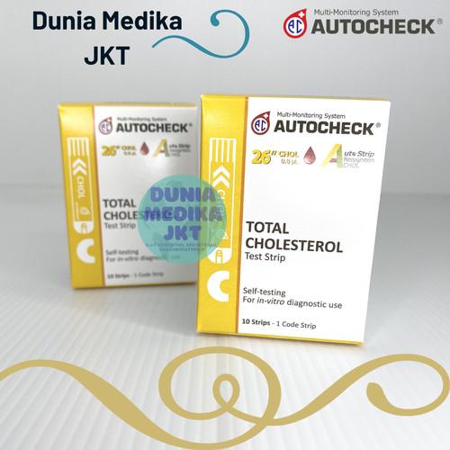 Foto Produk Strip Autocheck Kolesterol / Cholesterol dari DuniaMedikaJKT