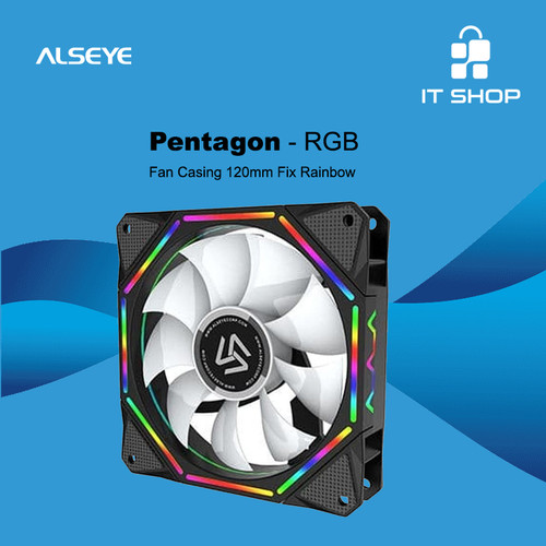 Foto Produk Alseye Fan Pentagon EL-120 A-RGB dari IT-SHOP-ONLINE
