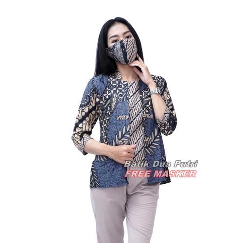 Foto Produk Atasan Batik Wanita Blouse Kekinian By Batik Dua Putri Collection - S dari BATIK DUA PUTRI