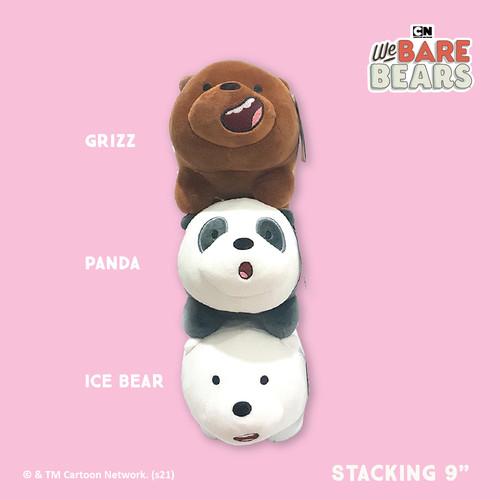 Foto Produk We Bare Bears Paket 3in1 9 Inch Stacking Plush / Boneka Beruang dari We Bare Bears ID