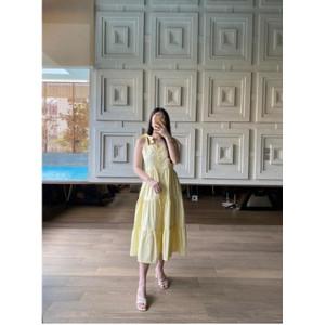 Foto Produk V184 Ester Dress - 4 color - Kuning, S dari Velove