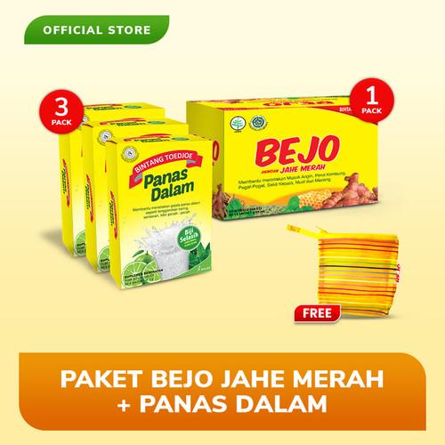 Foto Produk Paket Bejo Jahe Merah + Panas Dalam dari Bintang Toedjoe Official