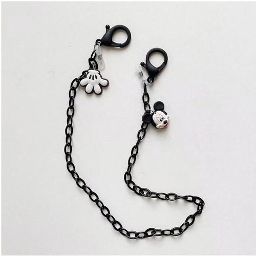 Foto Produk NEW Tali / Rantai Masker/Kalung Masker dengan gantungan Mickey Minnie - MICKEY dari Hema's